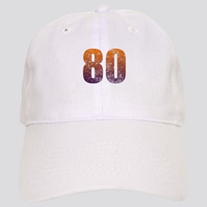 Cool 80th Birthday Cap