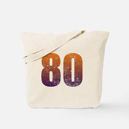 Cool 80th Birthday Tote Bag