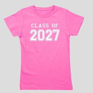 Class of 2027 (White) Girl's Tee