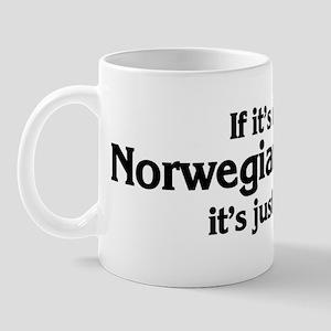 Norwegian Buhund: If it's not Mug