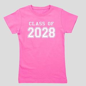 Class of 2028 (White) Girl's Tee