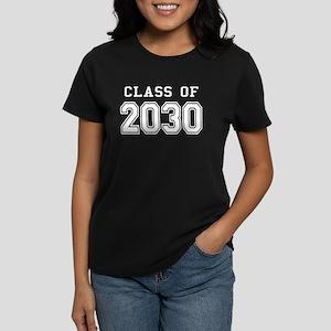Class of 2030 (White) Women's Dark T-Shirt