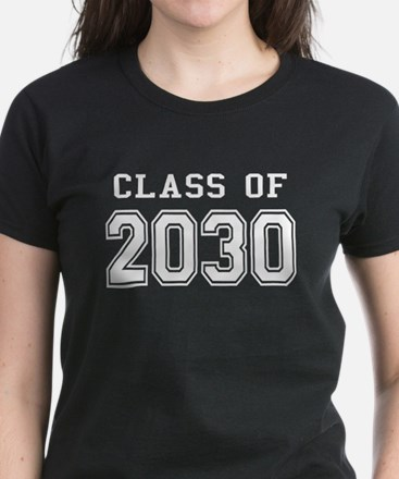 Class of 2030 (White) Women's Dark T-Shirt