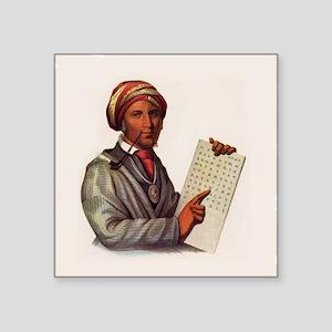 Sequoyah, The Cherokee Scholar Sticker