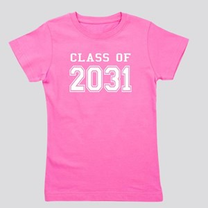 Class of 2031 (White) Girl's Tee