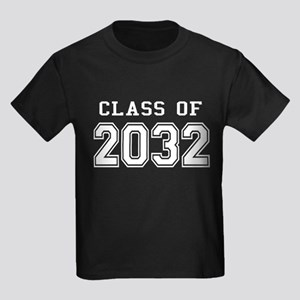 Class of 2031 (White) Kids Dark T-Shirt