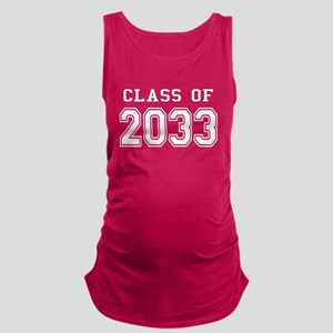 Class of 2033 (White) Maternity Tank Top