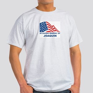 Loving Memory of Joaquin Ash Grey T-Shirt