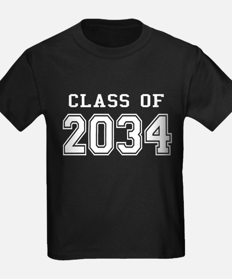 Class of 2034 (White) T
