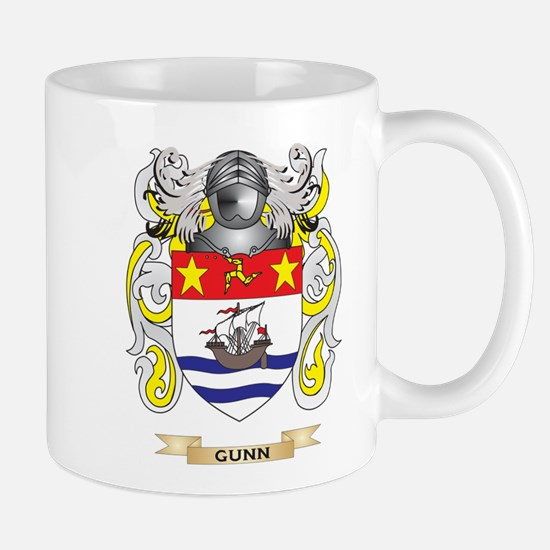 Gunn Coat of Arms (Family Crest) Mug