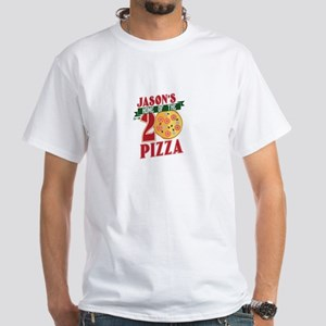 JASON'S HOME OF THE FU**EN 20 PIZZA T-Shirt