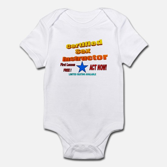 The Mr. V 140 Shop Infant Bodysuit