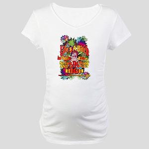 Lifes A Bitch Maternity T-Shirt