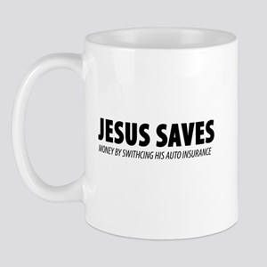 JESUS-SAVES-MONEY-BY-SWITCH Mugs