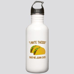 I Hate Tacos Water Bottle