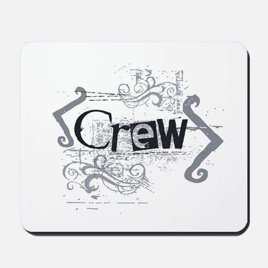 Grunge Crew Mousepad