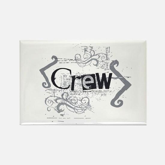 Grunge Crew Rectangle Magnet