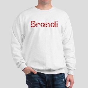 Brandi - Candy Cane Sweatshirt