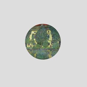 Schloss Kammer By Gustav Klimt Mini Button