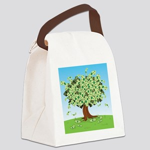 money tree Canvas Lunch Bag