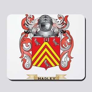 Hadley Coat of Arms (Family Crest) Mousepad
