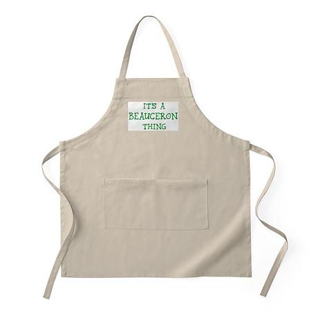 Beauceron thing BBQ Apron