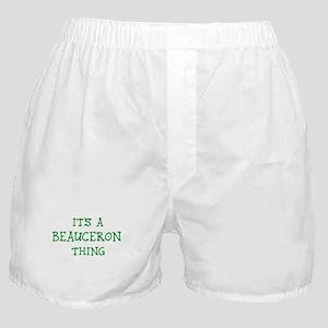 Beauceron thing Boxer Shorts