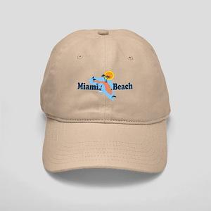 Miami Beach - Map Design. Cap