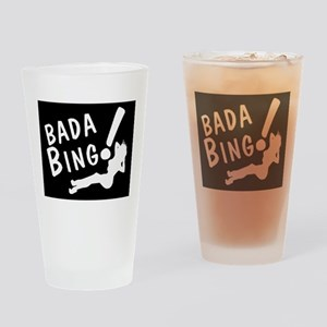 BADA BING Drinking Glass