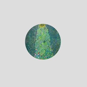Sunflower by Gustav Klimt Mini Button