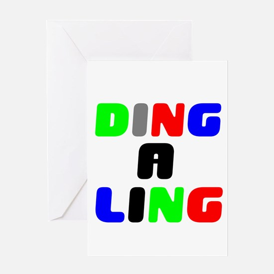 DING A LING! Greeting Cards