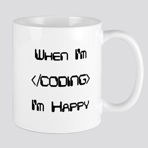 Coding (Black) Mug