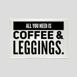 Coffee Leggings Magnets