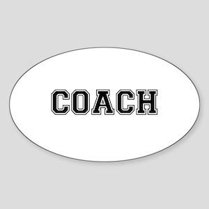 Coach text Sticker