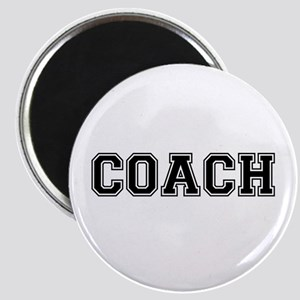 "Coach text 2.25"" Magnet (10 pack)"