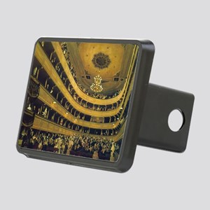 Old Burgtheater by Gustav Rectangular Hitch Cover