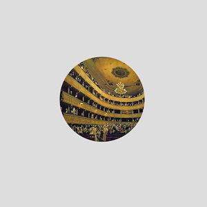Old Burgtheater by Gustav Klimt Mini Button