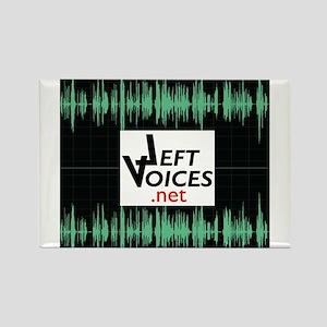 LeftVoices Rectangle Magnet