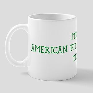 American Pit Bull Terrier thi Mug
