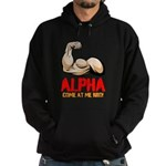 Alpha Come At Me Bro! Hoodie