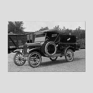Hertz Model T Rental Truck Mini Poster