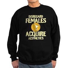 Disregard Females Acquire Aesthetics White Sweatsh