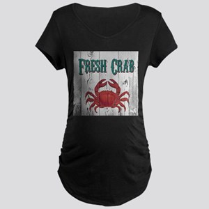 Fresh Crab Maternity T-Shirt