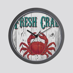 Fresh Crab Wall Clock
