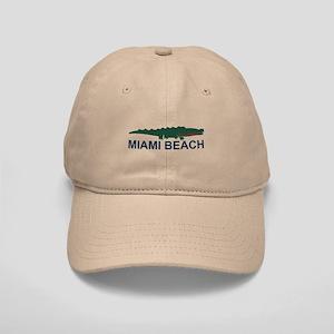 Miami Beach - Alligator Design. Cap