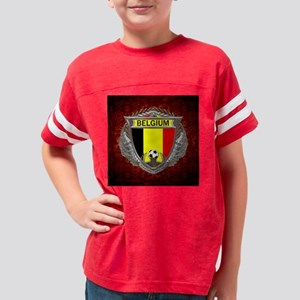 Belgium Soccer Keepsake Box Youth Football Shirt