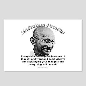 Mahatma Ghandi 01 Postcards (Package of 8)