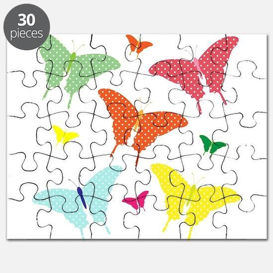 PolkaDot Butterflies Puzzle