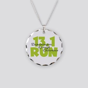 13.1 Run Yellow Necklace