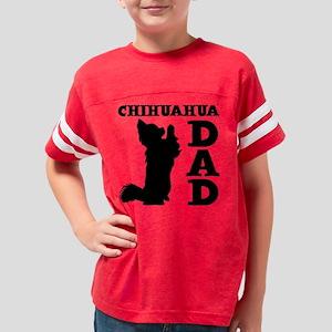 CHIHUAHUA DAD Youth Football Shirt
